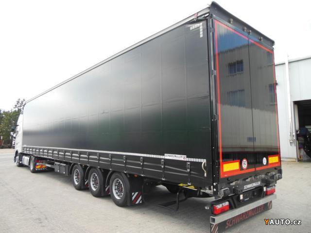 Prodám Schwarzmüller SPA 3, E, LowDeck, stav nového