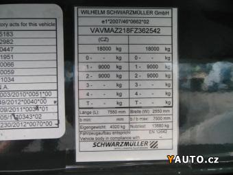 Prodám Schwarzmüller KIA 2, E, NOVÝ, IHNED K ODBĚRU