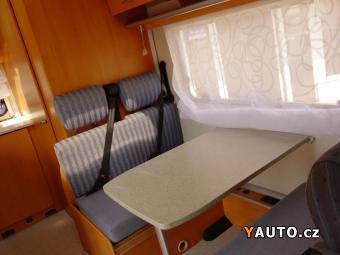 Prodám Hymer CampClassic 514 2.3JTD 81kW -ASR-KLIMA-6OSOB