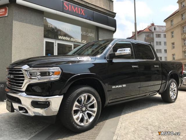 Prodám Dodge RAM NOVINKA  Longhorn, 5,7L Hem