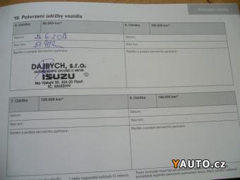 Prodám Isuzu D-Max SC 2,5 TDI
