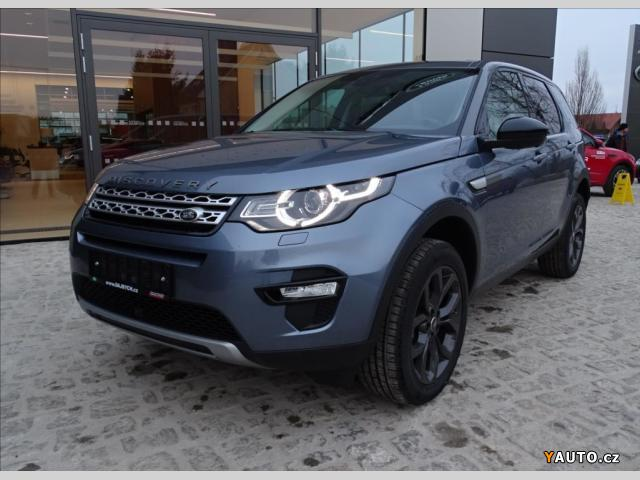 Prodám Land Rover Discovery Sport 2,0 TD4 180PS AT HSE MY18
