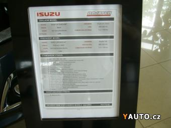 Prodám Isuzu D-Max DC 1,9 TDI 6A, T PREMIUM NAVI