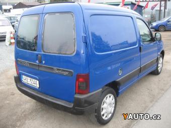 Prodám Citroën Berlingo 1.2i, Odpočet DPH