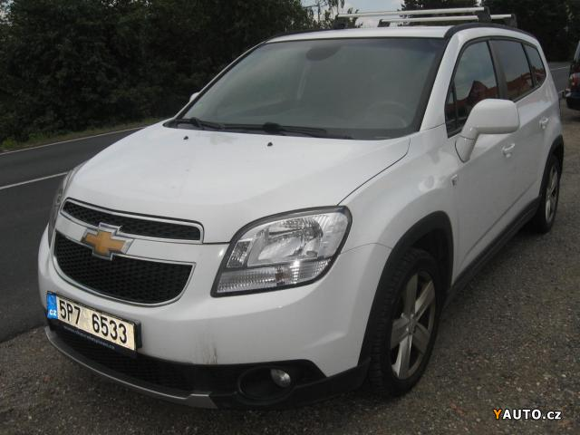 Prodám Chevrolet Orlando 1.8i + LPG, 1. Majitel