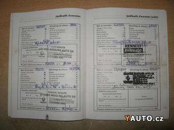 Prodám Renault Master 2.5 DCi, Serviska