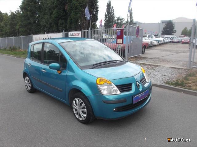 Prodám Renault Modus 1,2 i 55kW ČR