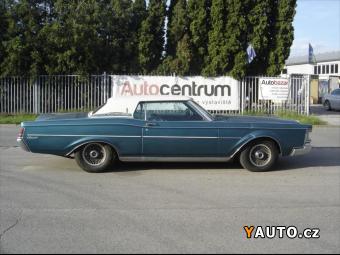 Prodám Lincoln Continental 7,5 MARK III V8