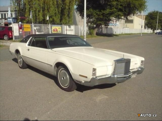 Prodám Lincoln Continental 7,5 MARK IV