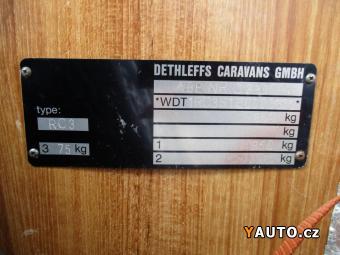 Prodám Dethleffs RC3 v dobrém stavu, dovoz Fran