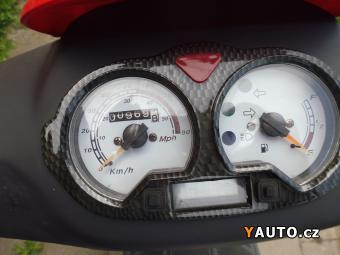 Prodám Yuki Yuki Whip 50ccm NAJETO 970km