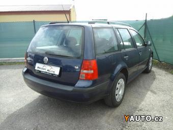 Prodám Volkswagen Golf Variant 1.6i 77kW Ocean
