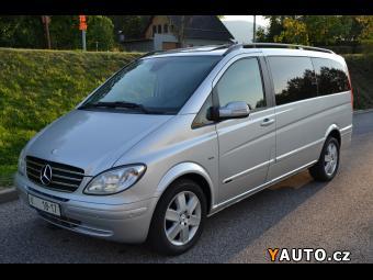Prodám Mercedes-Benz Viano 3.0 Long, FUN, lůžková úpra
