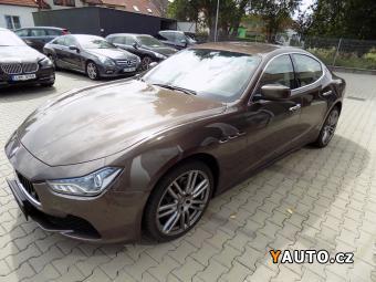 Prodám Maserati Ghibli S Q4 plná výbava