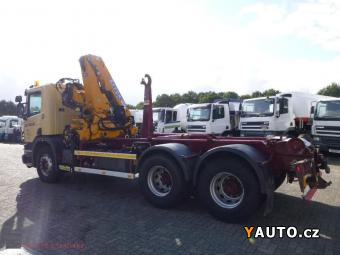 Prodám Scania P380 6x4 HNK s hydr rukou P380 6x4 HNK s hydr rukou