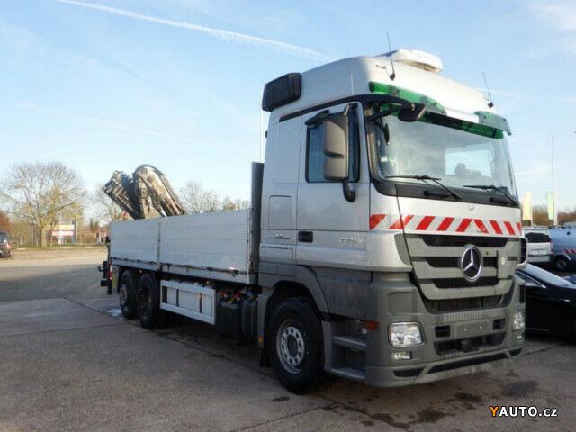 Prodám Mercedes-Benz Actros 2541 L 6x2, Hydr.ruka Actros 2541 L 6x2, Hydr. ruka