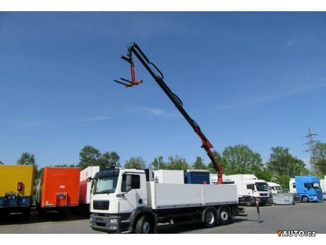 Prodám MAN TGM 26.340 6x2 s hydr.rukou TGM 26.340 6x2 s hydr. rukou