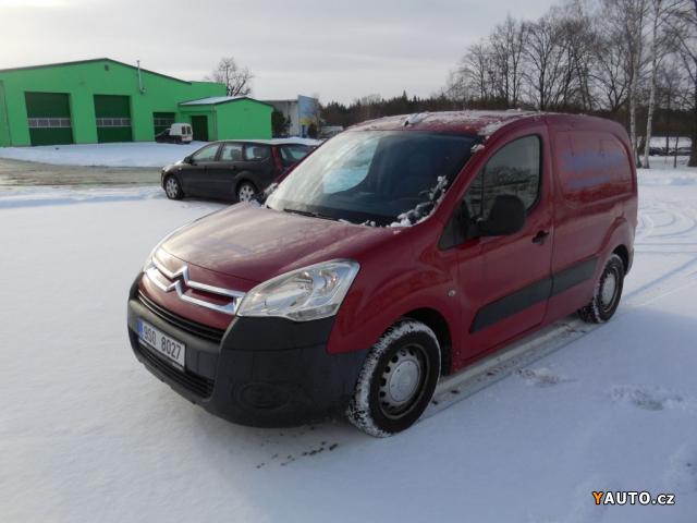 Prodám Citroën Berlingo 1.6Hdi nové v ČR, serviska