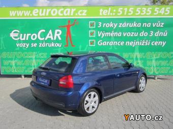 Prodám Audi S3 1,8 Quattro serviska+xenony