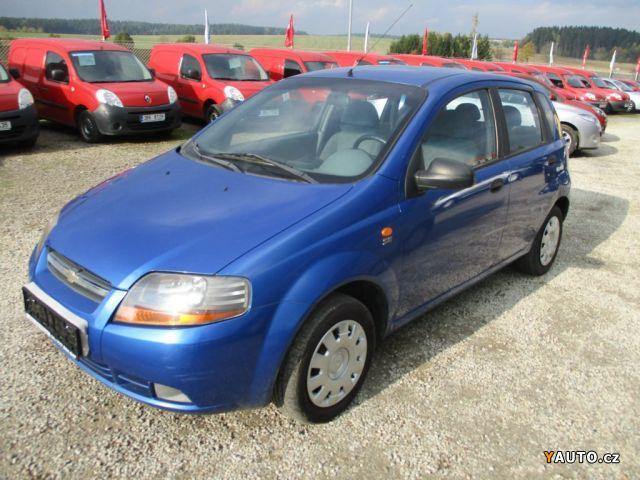 Prodám Chevrolet Kalos 1,2i bez koroze, euro3