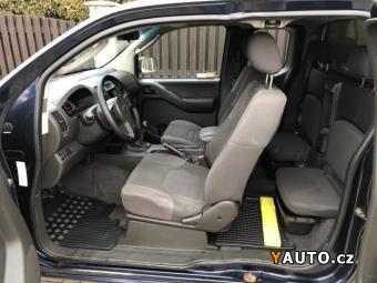 Prodám Nissan Navara 2.5dCi 4x4 KINGCAB 1. majitel