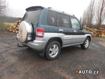 Prodám Mitsubishi Pajero Pinin 2.0 95 kW KLIMA Serviska