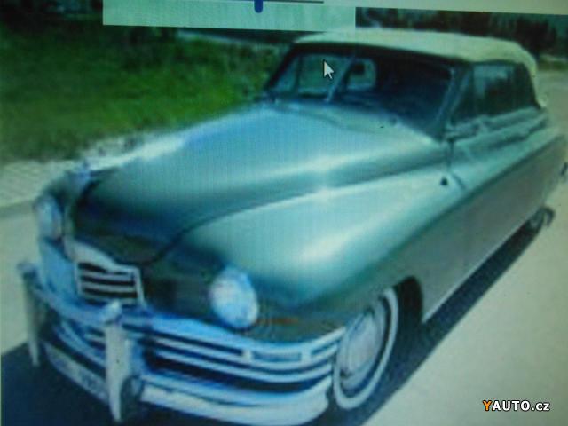 Prodám Packard Super Eicht 5,3 112 kW