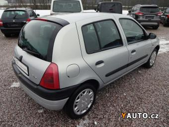 Prodám Renault Clio 1,2i RT,1.majitel, 5 dveří, servo, bez koroze