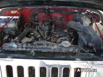 Prodám Jeep Wrangler 2,5 i 4 x 4