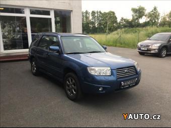 Prodám Subaru Forester 2,0 LPG 4x4 1. MAJ., CZ