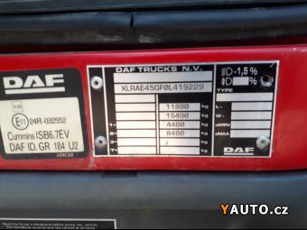 Prodám DAF DAF LF 45.250 EEV,  12t