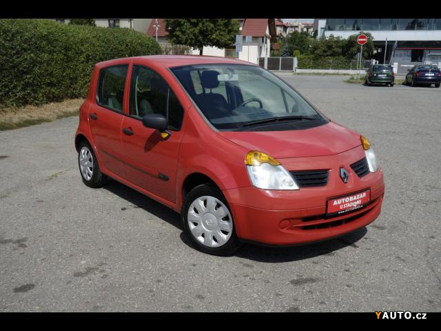 Prodám Renault Modus 1.2 16V servisní kniha. nové p