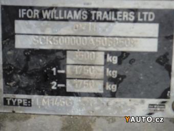 Prodám  Ifor Williams 3,5 t nové brzdy