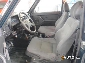 Prodám Lada Niva 1.7i LPG servo ZARUKA km