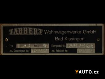 Prodám Tabbert 531