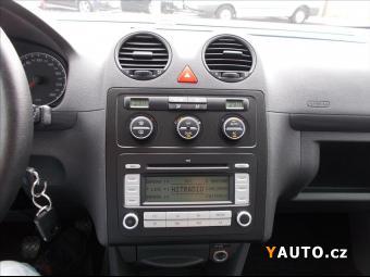 Prodám Volkswagen Caddy 1,6 i 75kW LPG digiKLIMA LIFE