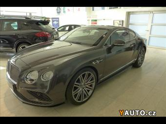 Prodám Bentley Continental GT masažní sedadla, TV SPEED Mode