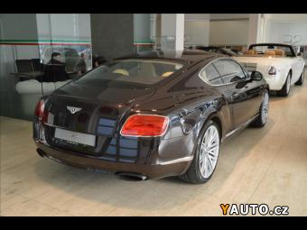 Prodám Bentley Continental GT Speed, MASÁŽE, KERAMIKY
