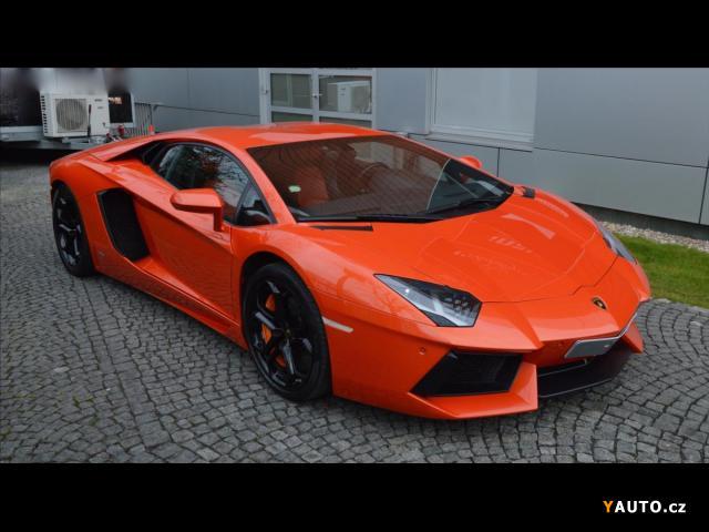 Prodám Lamborghini Aventador SENSONUM, KAMERA V12 LP 700-4