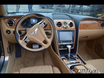 Prodám Bentley Continental GTC 6,0 SPEED W12 ACC, Masáže, TV