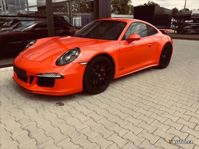 Prodám Porsche 911 Carrera 4 GTS - Záruka