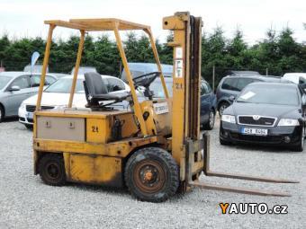 Prodám Balkancar vysokozdvyžný aku, plně funkční
