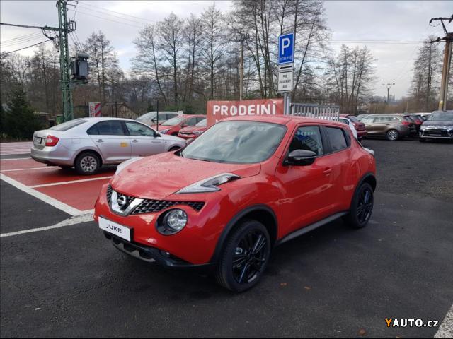 Prodám Nissan Juke 1,2 DIG-T CZECH LINE alu18 NAV