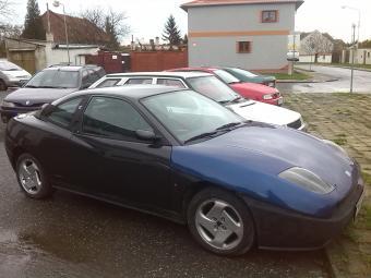 Prodám Fiat Coupé 2, 0 16V TURBO