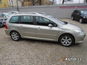 Prodám Peugeot 307 1,6 16V 80KW SW Navteq Automat