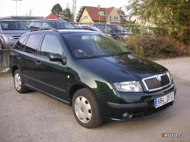 Škoda Fabia Combi 1.4 TDi Ambiente Combi