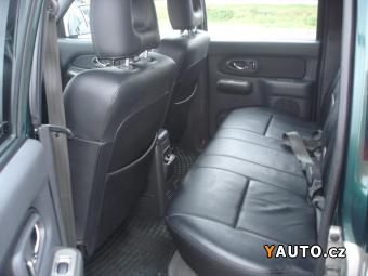 Prodám Mitsubishi L200 2.5TD 85kW, 4x4, Kůžě, digiklima
