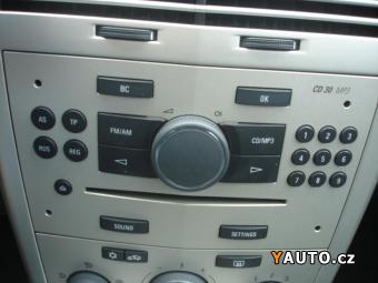 Prodám Opel Astra 1,9 CDTi 74kW, 6rychl, Výbava