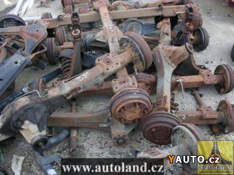 Prodám Ford Transit z. náprava VOLAT 602 696111