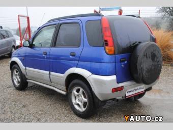 Prodám Daihatsu Terios 1.3 4X4, KLIMA, TAŽNÉ, EKO. PLACEN